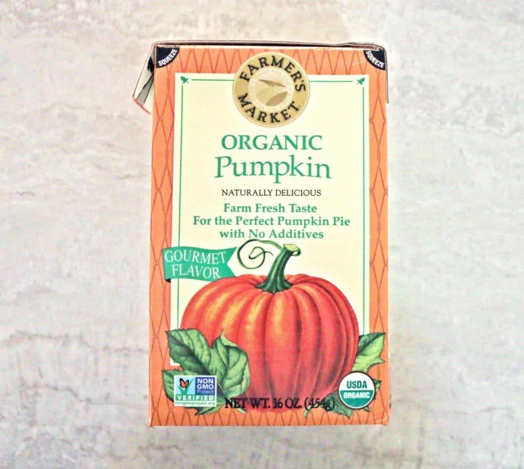 clean pumpkin spice latte