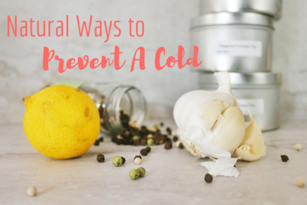natural ways to prevent a cold