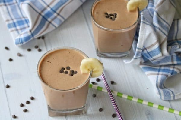 Clean Eating Chocolate Milkshake
