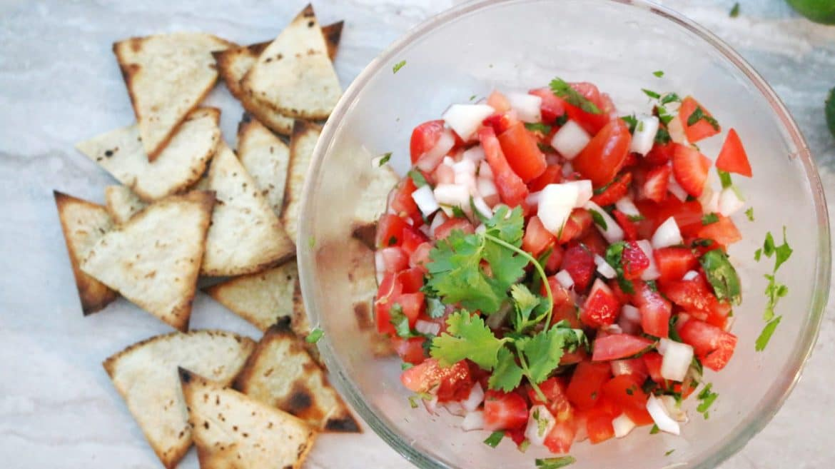 Strawberry Salsa Clean Eating Recipe