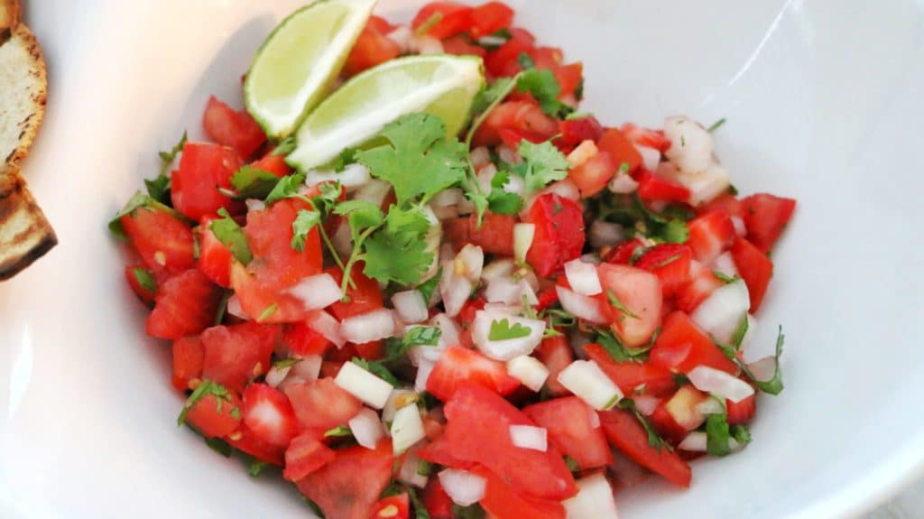 Strawberry Salsa Clean Eating