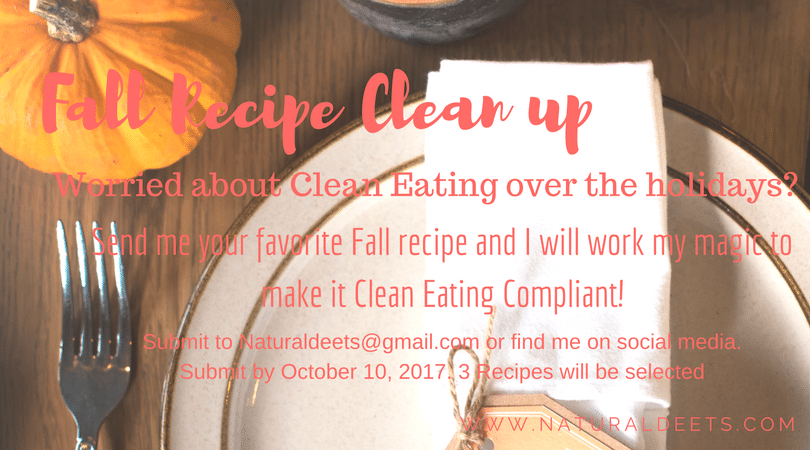 Natural Deets Clean Eating Clean Up
