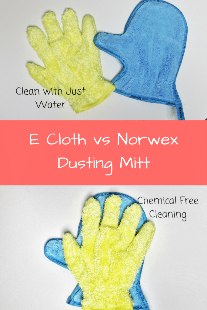 E Cloth vs Norwex Dusting Mitt