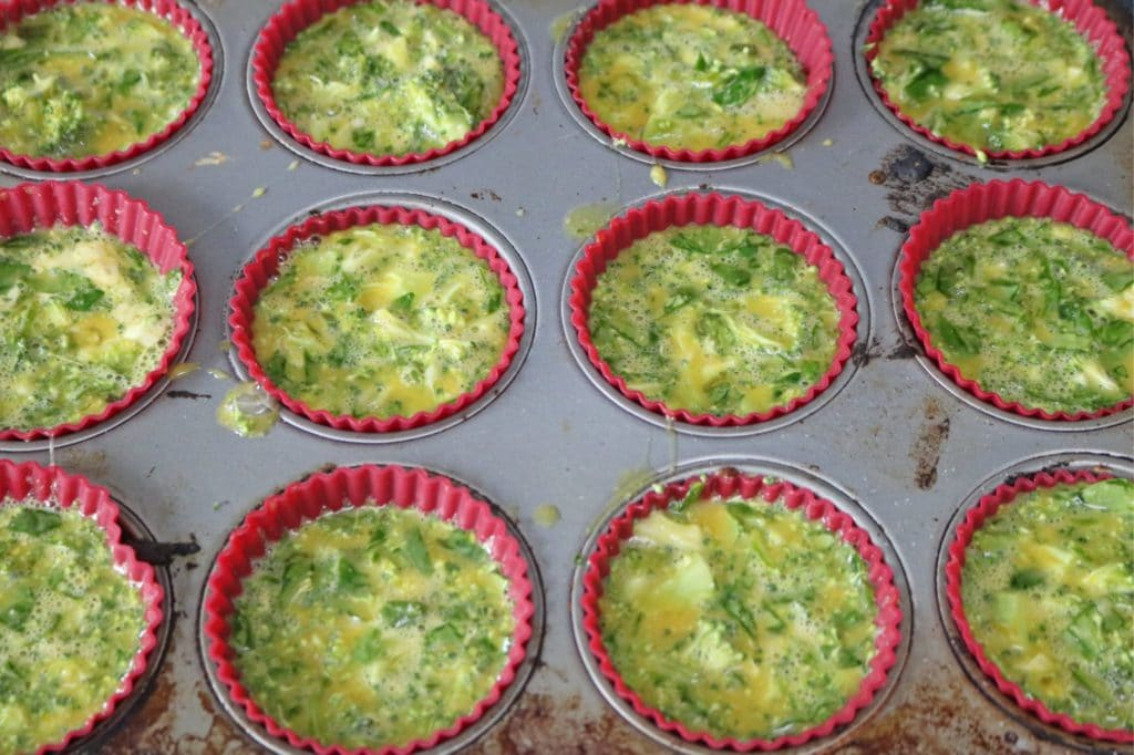 clean eating egg muffin