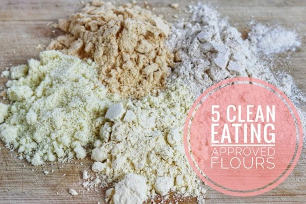 clean eating approve flours