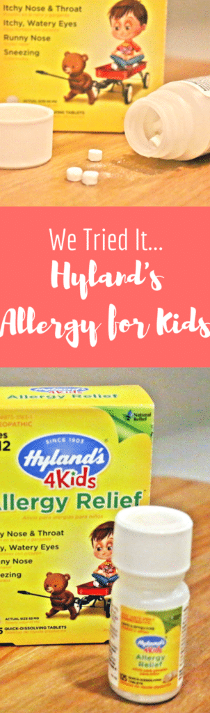 hyland's allergy review