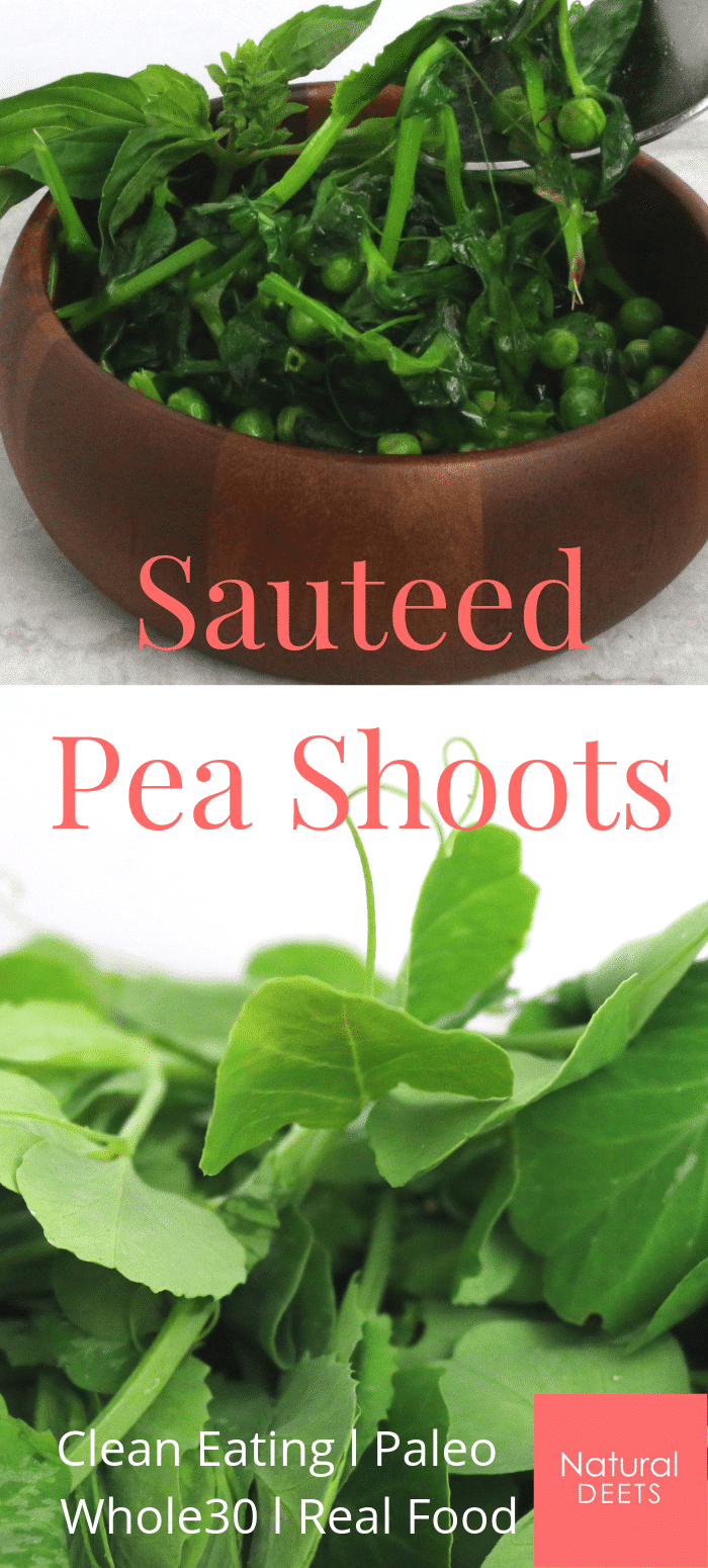 pea shoot recipe