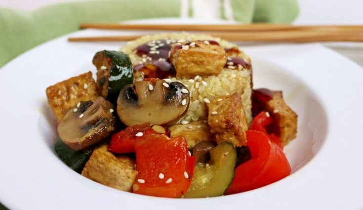 15 Minute Tofu Stir Fry