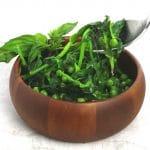 sauteed pea shoots