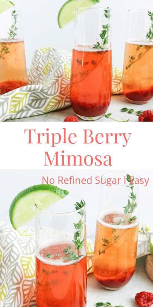 Pin of Strawberry Mimosa