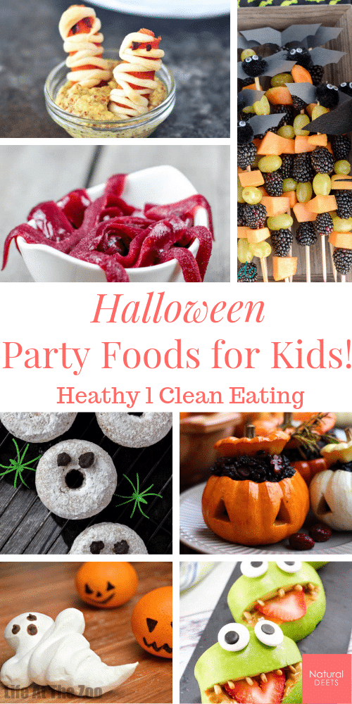 halloween party foof for kids