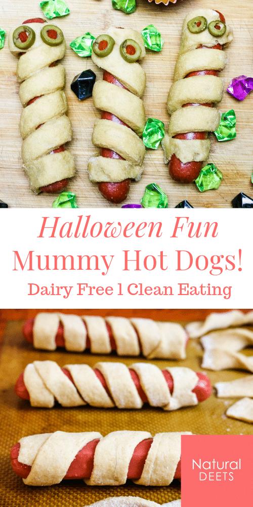 pin of mummy hot dogs