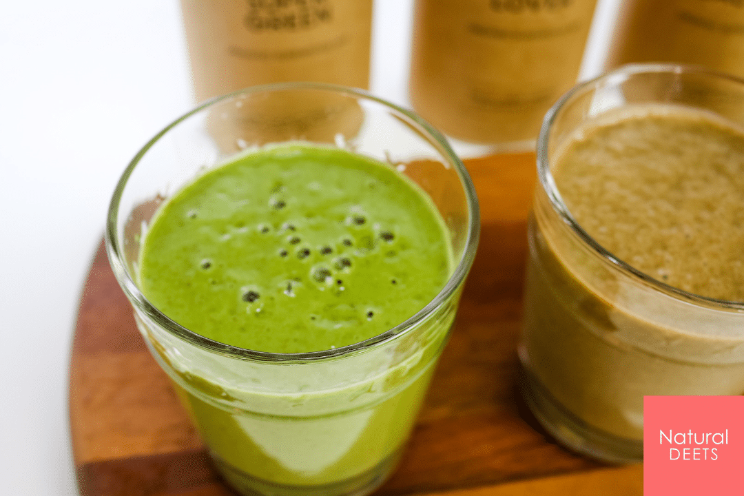 picture of super greens smoothie