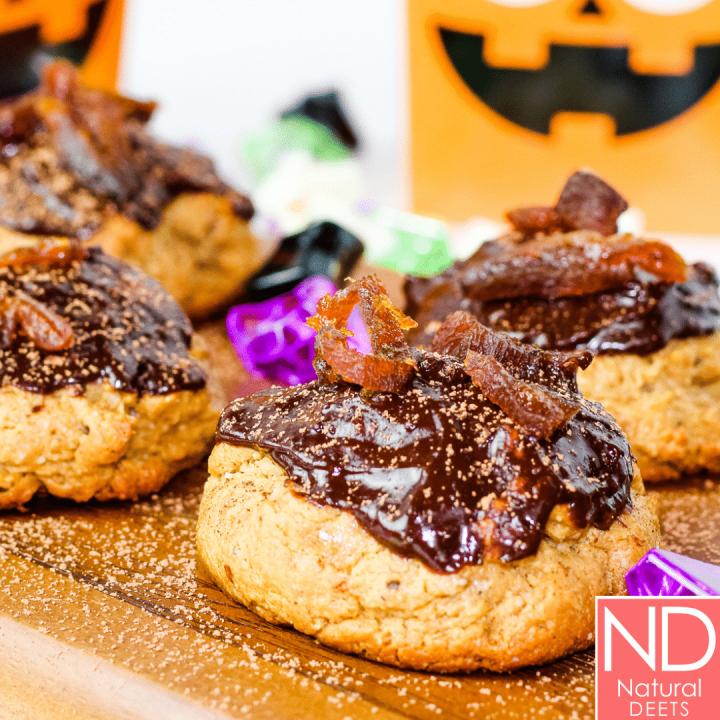 Cashew Cookies - Healthy Halloween Cookies